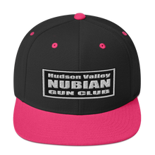 Load image into Gallery viewer, Hudson Valley Nubian Gun Club™ Snapback Hat