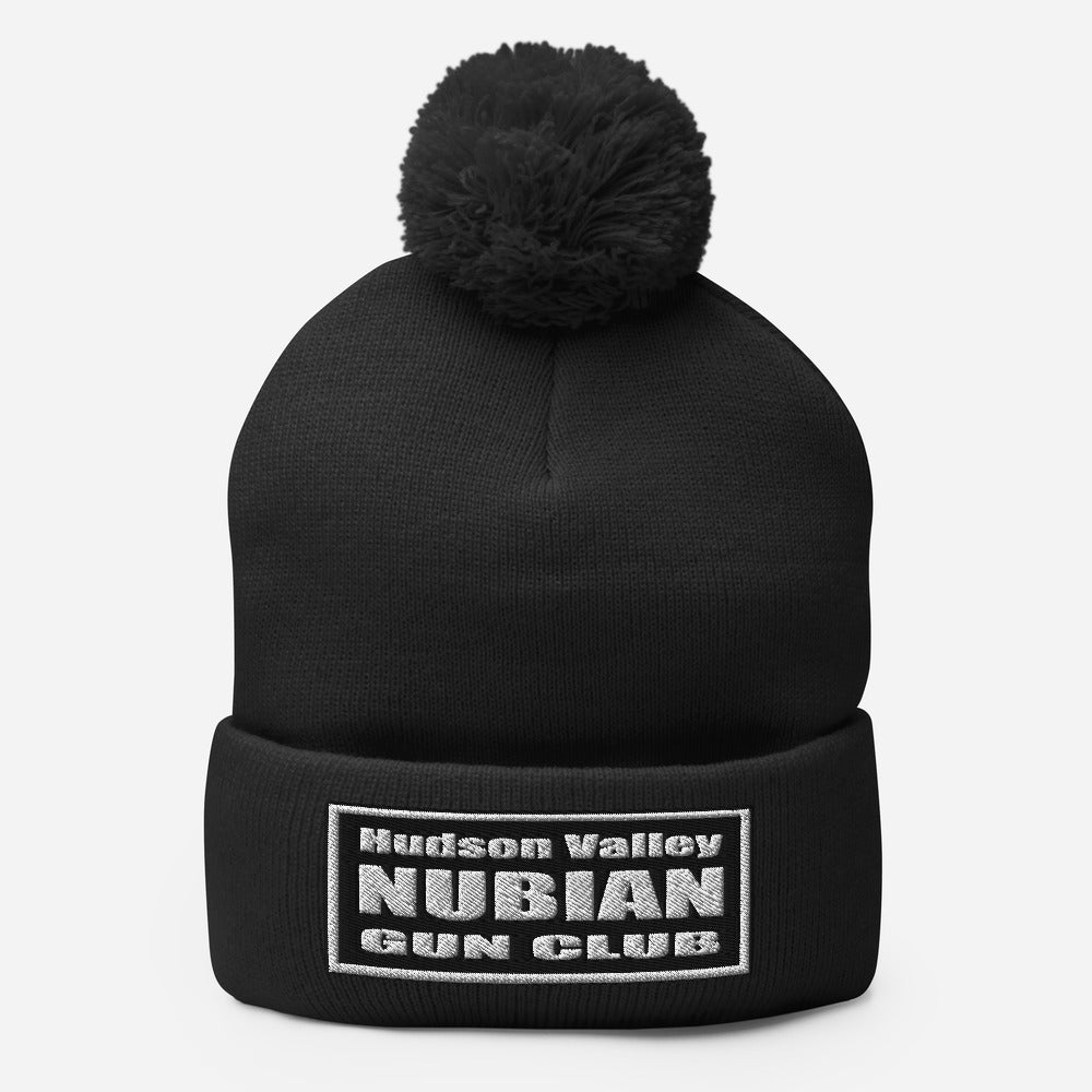 Hudson Valley Nubian Gun Club™ Beanie with Pom-pom