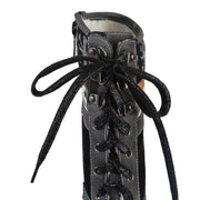 Women's Vintage Mid-Tube Lace-Up Martin Boots