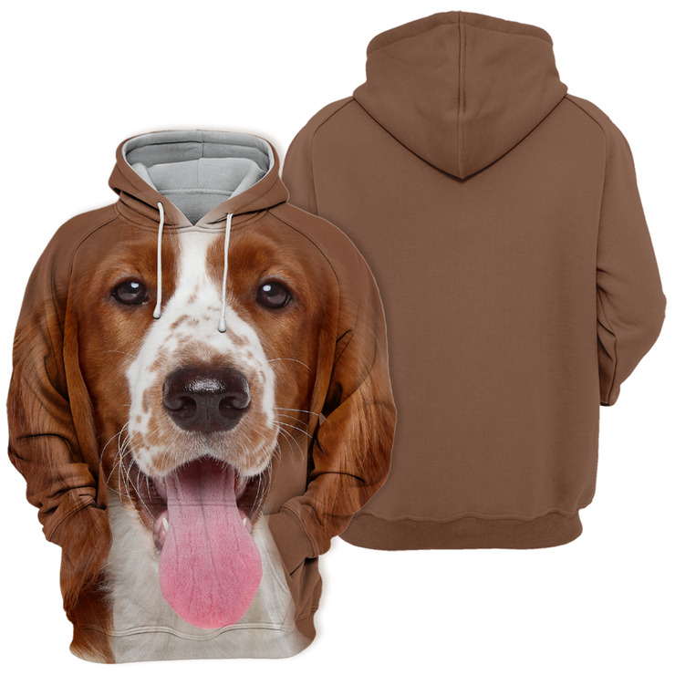 Unisex 3D Graphic Hoodies Animals Dogs Springer Spaniel