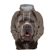 Unisex 3D Graphic Hoodies Animals Dogs Cane Corso