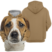 Unisex 3D Graphic Hoodies Animals Dogs Jack Russell Terrier