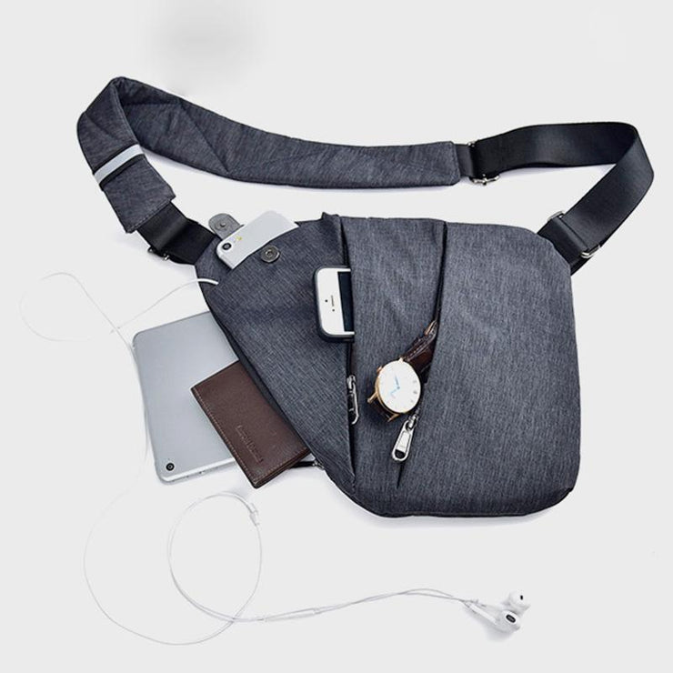 Anti-Theft Waterproof Sling Bag Chest Bag Bicycle Sport
