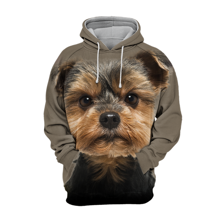 Unisex 3D Graphic Hoodies Animals Dogs Yorkshire Terrier Torkie Lovely