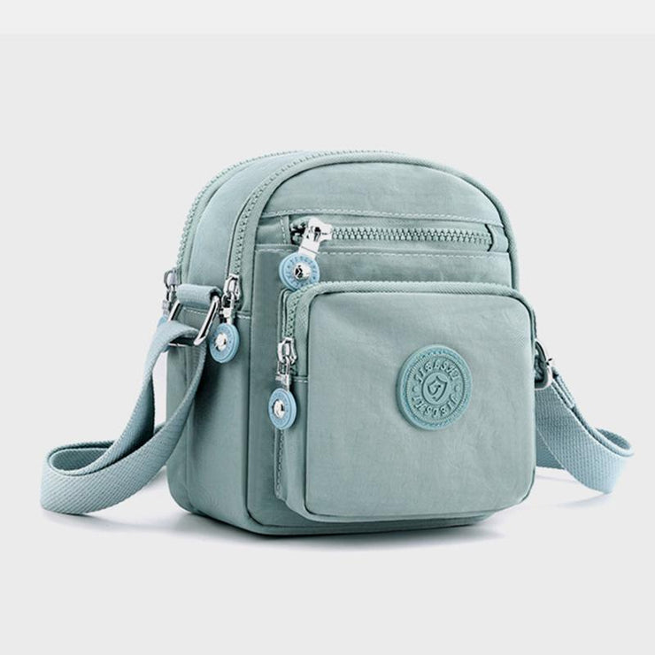 Multi-Carry Solid Color Crossbody Bag