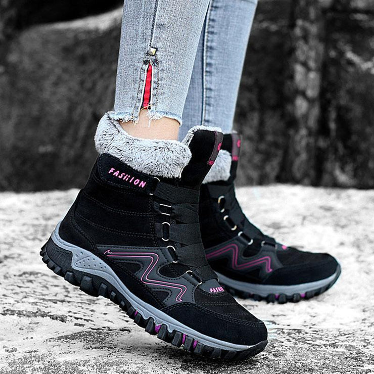 Women's Outdoor Warm Thick Snow Boots