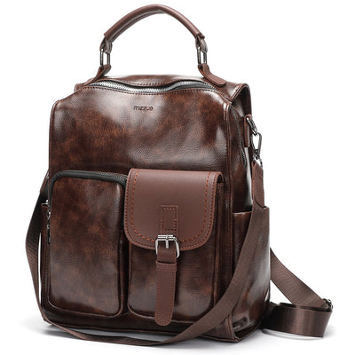 Megan PU Leather Casual Backpack