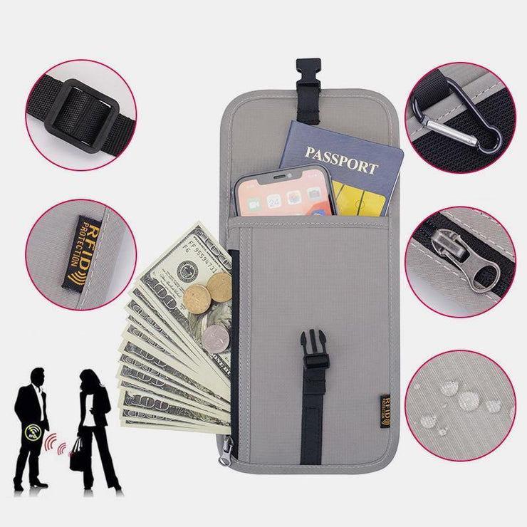 Waterproof RFID Multi-functional Passport Holder