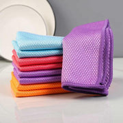 Tendaisy® Fish Scale Microfiber Polishing Cleaning Cloth 5 Pcs