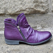 Women's Side Zipper Casual Boots