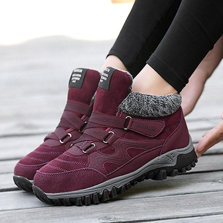 Women's Warm And Thick Casual Sneakers