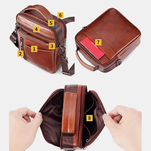 Retro Multi-function Messenger Bag Handbag