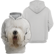 Unisex 3D Graphic Hoodies Animals Dogs Old English Sheepdog