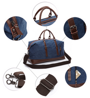 Mens Duffle Canvas & Overnight Travel Bags