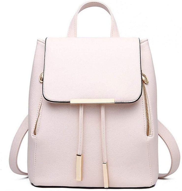 Fashion Shoulder Bag Rucksack PU Leather Women Girls Ladies Backpack Travel bag