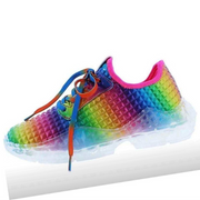 Rainbow Color Sports Casual Shoes Flats Round Toe