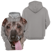 Unisex 3D Graphic Hoodies Animals Dogs Peruvian Hairless