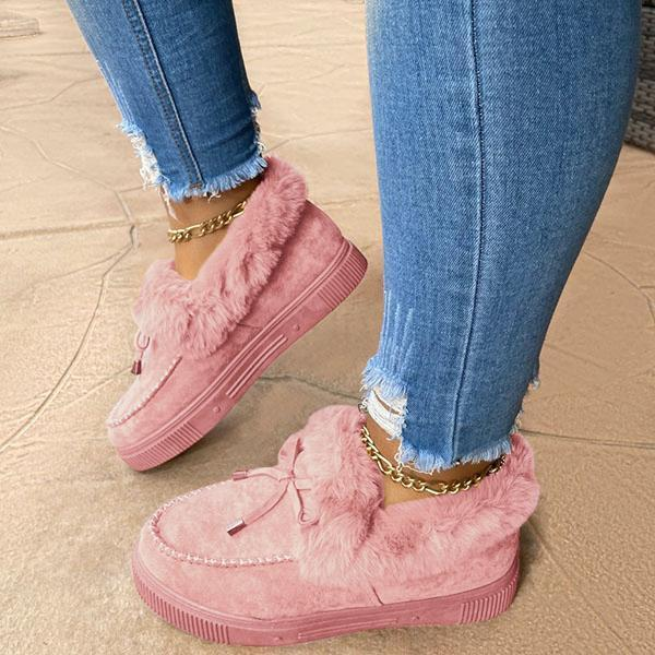 🔥Women's Winter Warm Lace Up Snow Boots