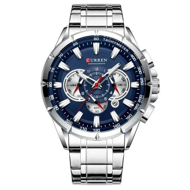Sport Male Big Watch(Get Smart Bracelet For Free)