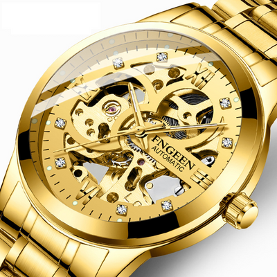 Skeleton Sport Mechanical Watch For Men