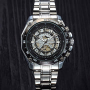 Luminous Steel Men Automatic Mechanical Watch(Get Bracelet For Free)