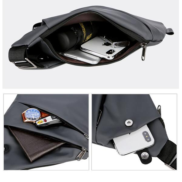 Anti-Theft Waterproof Sling Bag Cover Pack Bicycle Sport