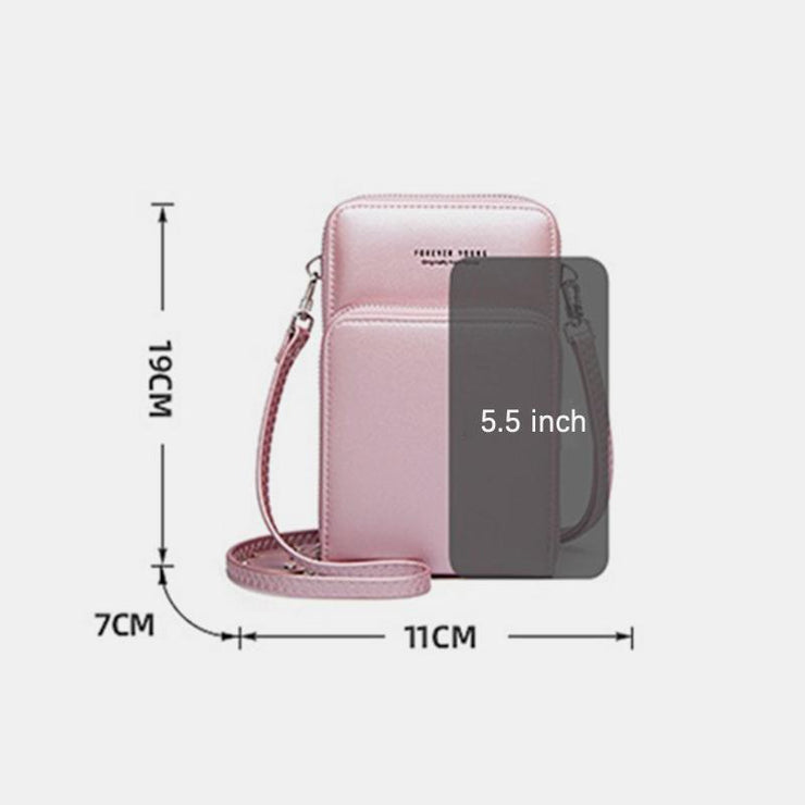 Large Capacity Multi-Slot Crossbody Phone Bag