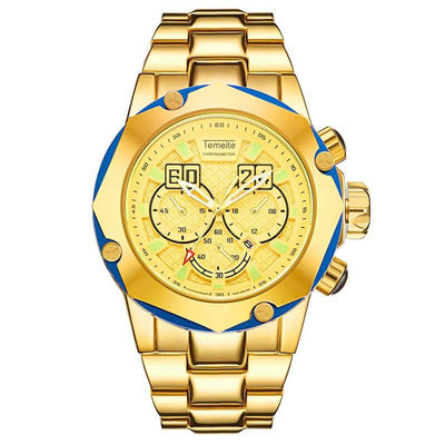 Luxury Fashion Gold Business Watch