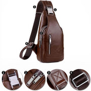 Men's Anti-theft Vintage Sling Bag(Buy 2 Get 15% off,CODE: B2)