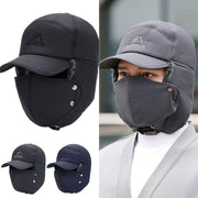 Unisex windproof & warm & ear protection & face protection hat
