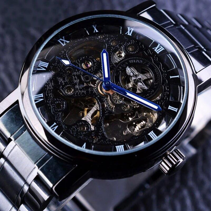 Transparent Retro Casual Watches For Men