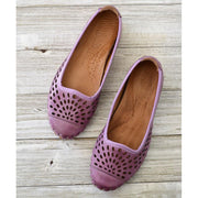 Women Handmade Retro Flat Shoes