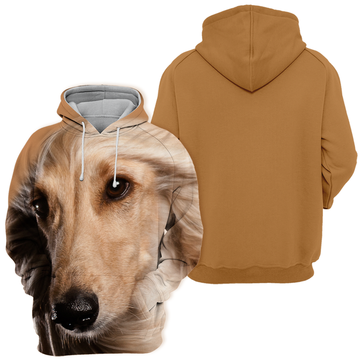Unisex 3D Graphic Hoodies Animals Dogs Afghan Hound
