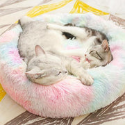 Marshmallow Cat Bed [Hot Selling!] Rainbow Xxl 27