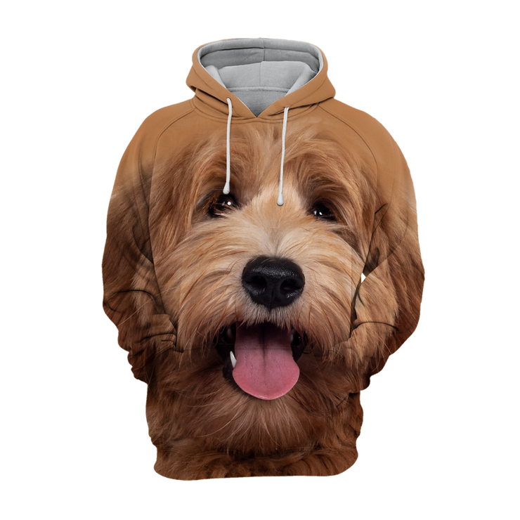 Unisex 3D Graphic Hoodies Animals Dogs Labradoodle Dog Puppy