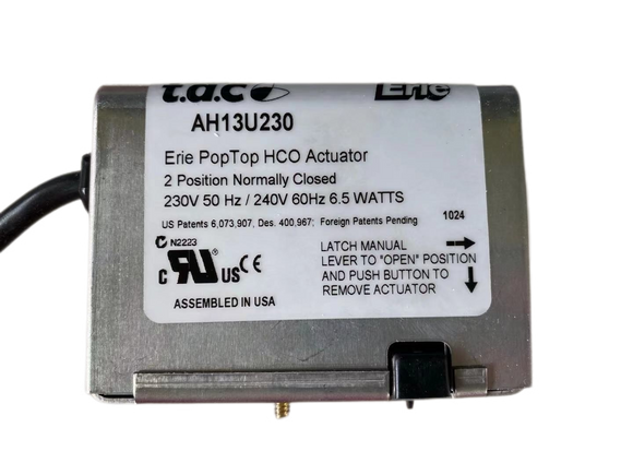 Erie PopTop HCO Actuator