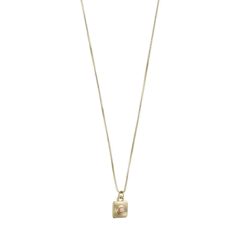 PILGRIM WISDOM GOLD PLATED NECKLACE