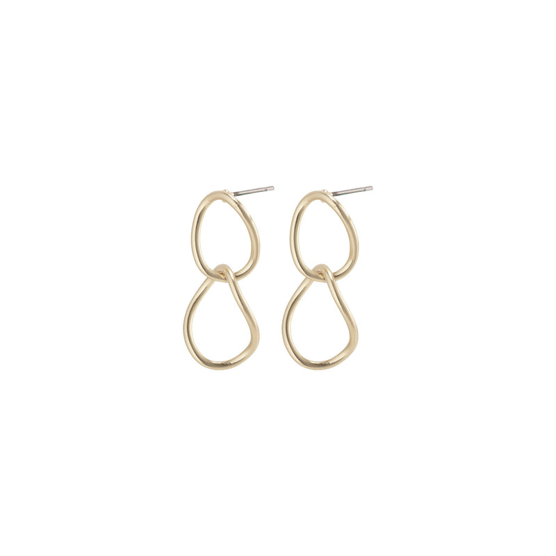 PILGRIM NIKA GOLD PLATED EARRINGS