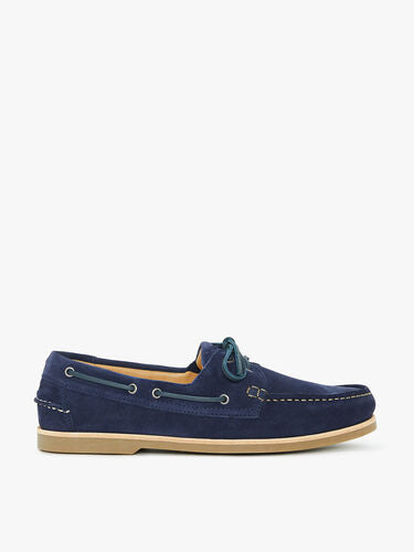 RM WILLIAMS HOBART NAVY SUEDE