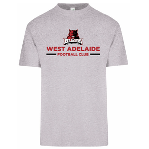 West Adelaide FC | Cotton Tee - Grey
