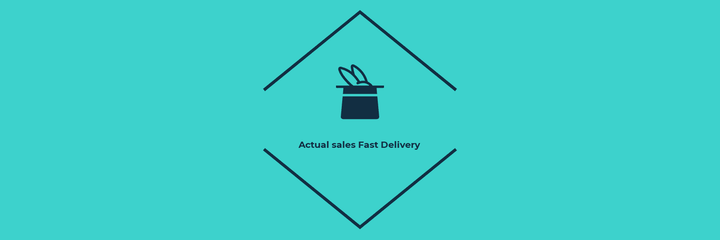 Actual Sales Fast Delivery