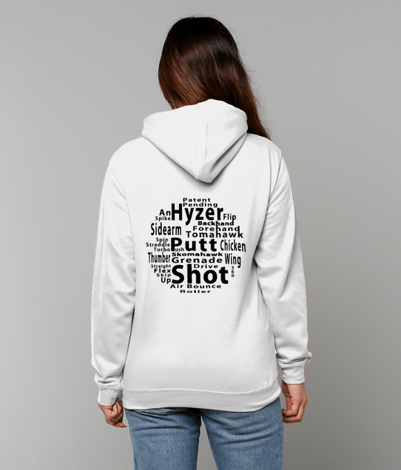 Disc Golf Throws Hoodie