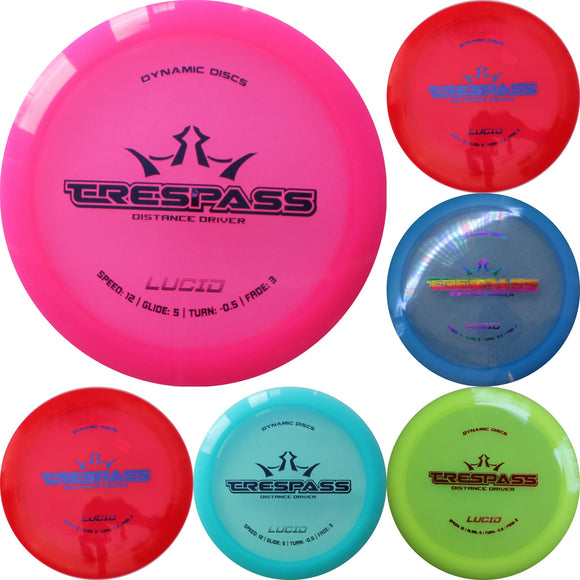 Dynamic Discs Lucid Trespass