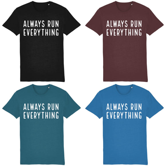 Always Run Everything T-Shirt White