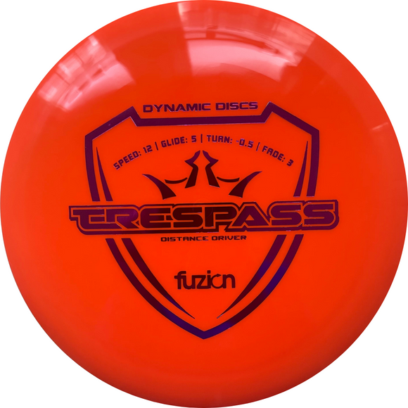 Dynamic Discs Fuzion Trespass