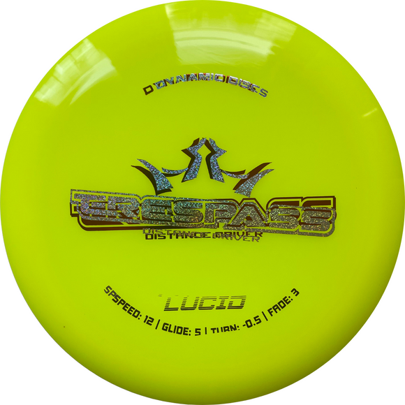Dynamic Discs Lucid Trespass Misprint