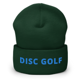 Disc Golf Cuffed Beanie