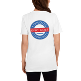 London Disc Golf Community Back Logo Unisex T-Shirt
