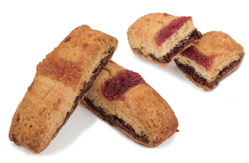 BISCUIT WITH BLACK CHERRY