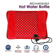 Load image into Gallery viewer, 0381 Velvet Electric Pain Relief Heating Bag - DeoDap
